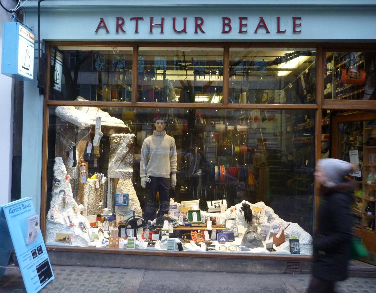 Christmas Shopping at Arthur Beale - it's easy!