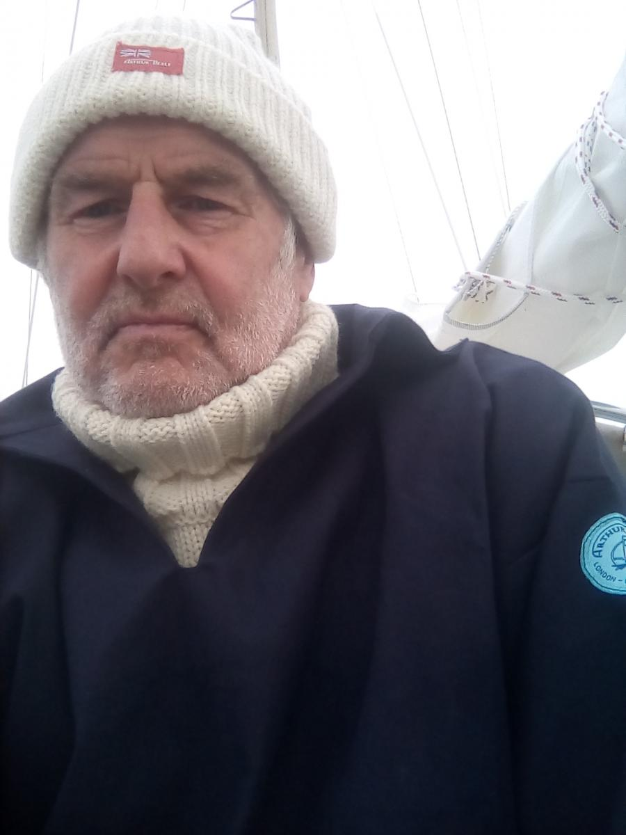 Tony Curphey - the oldest person the sail solo non-stop around the world!