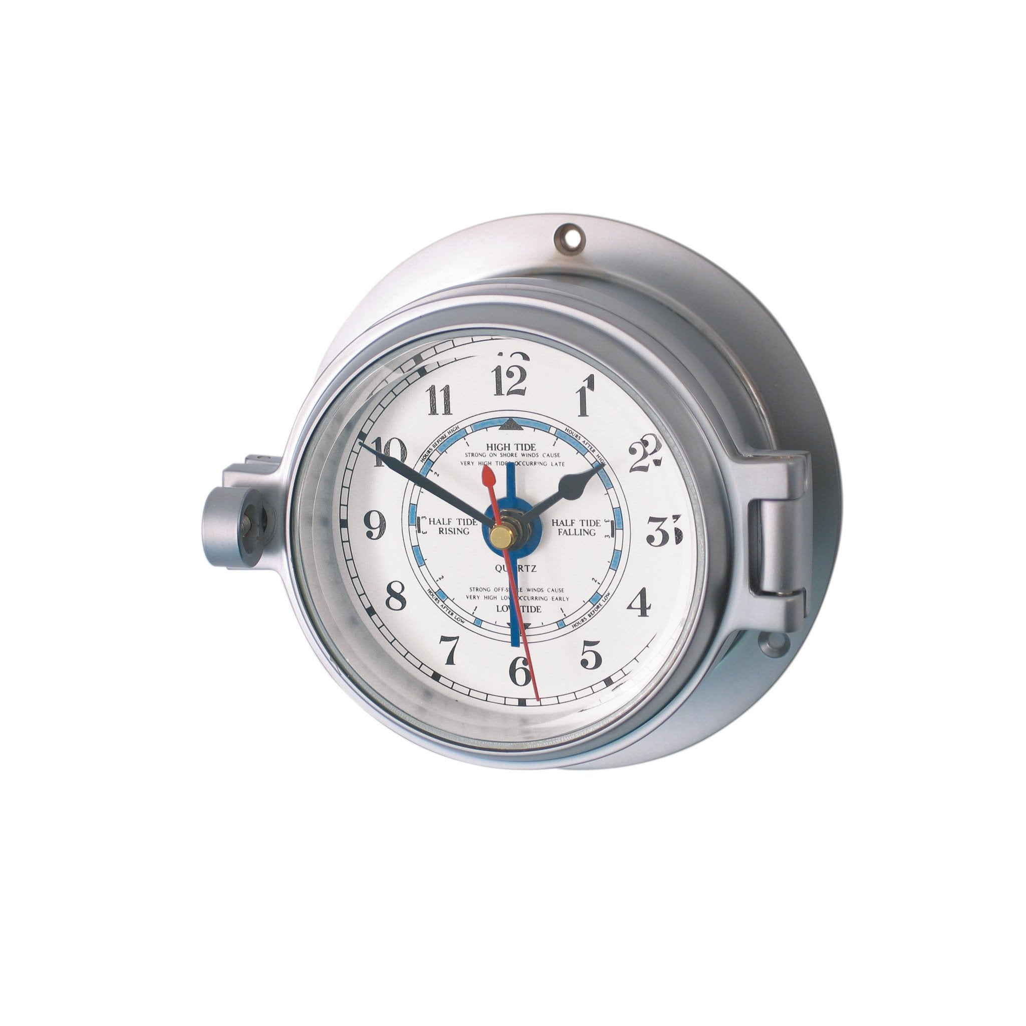 Channel Tide Clock Matt Chrome - Arthur Beale