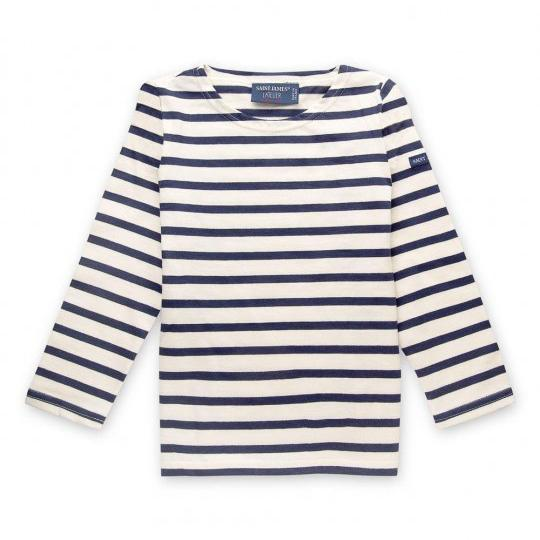 Saint James Minquiers Moderne Childrens Breton Top - Arthur Beale