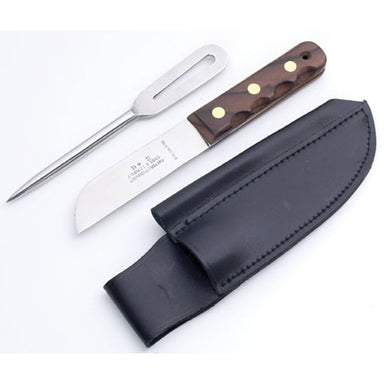 Sailor's Two Piece Knife Set with Shackle Spike and Sheath - Arthur Beale