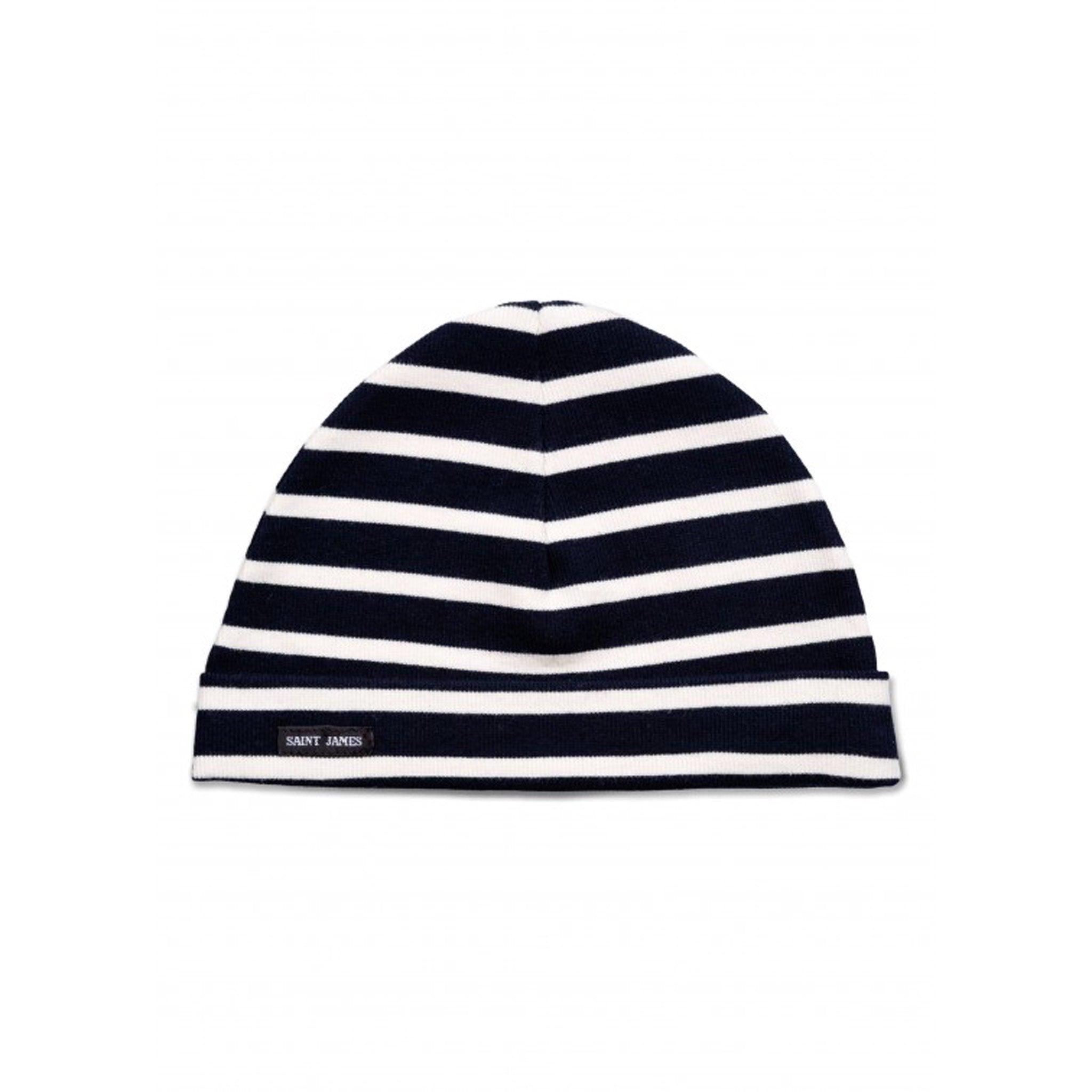 Saint James Childrens' Surcouf Striped Beanie - Arthur Beale