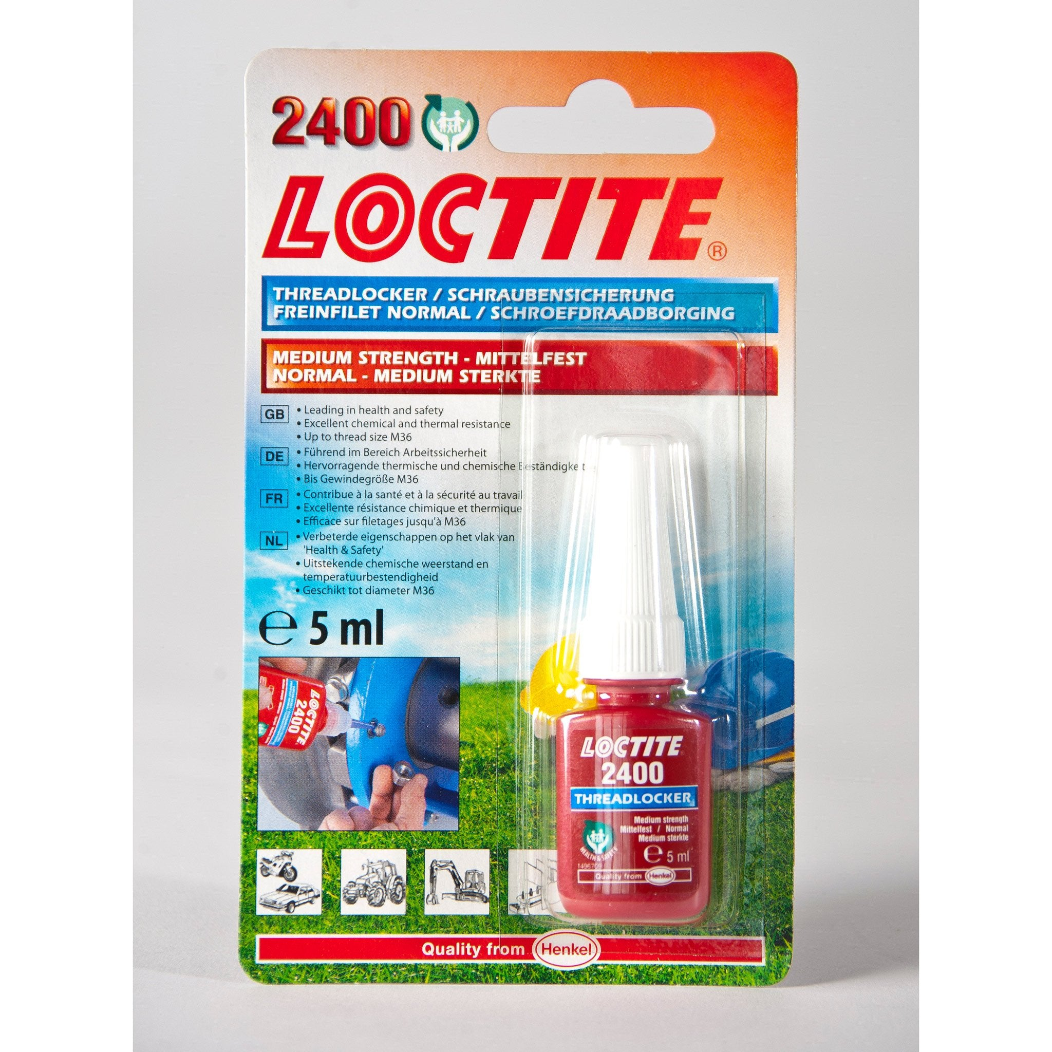Loctite Threadlocker - Arthur Beale
