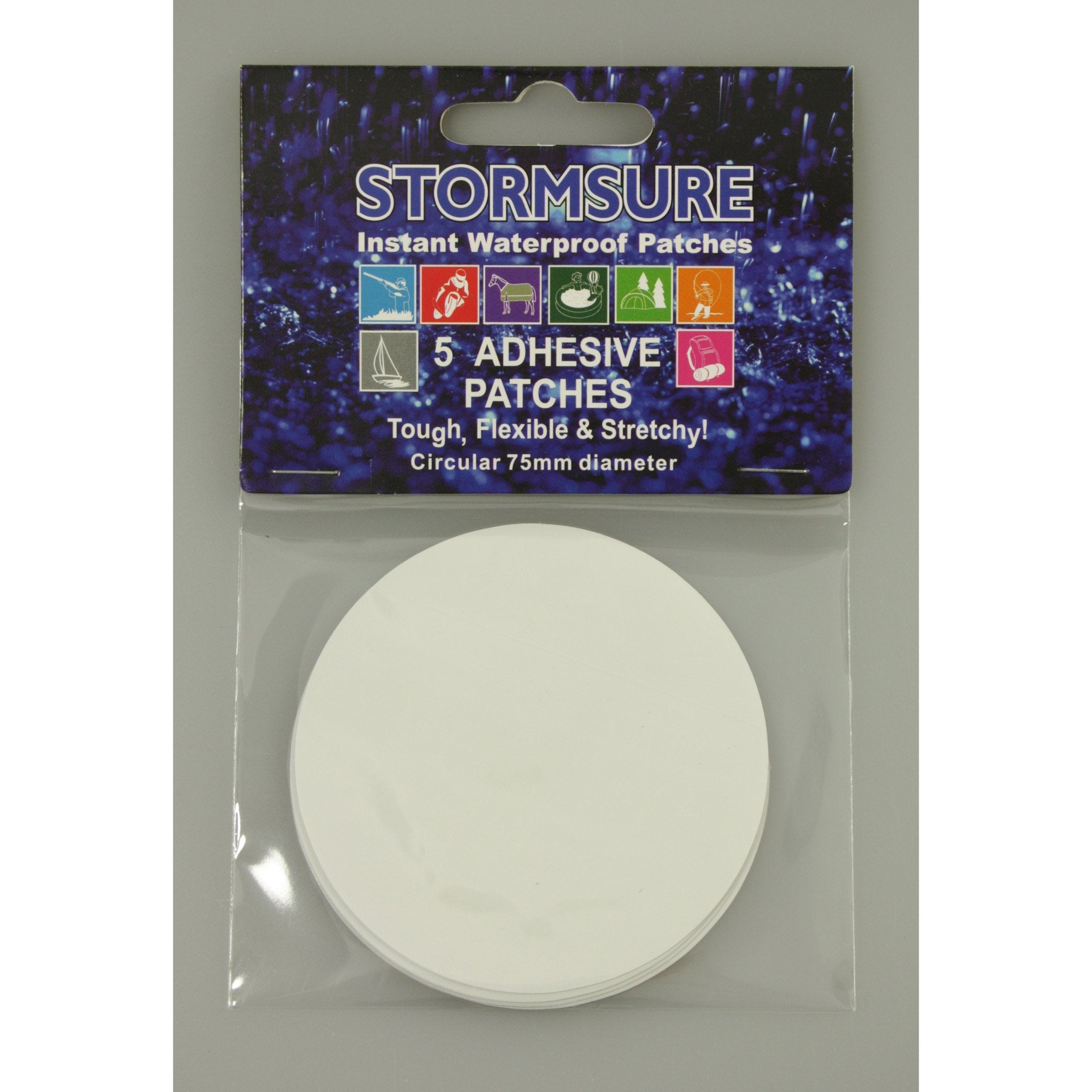 Stormsure Tuff Patches - 5 Round - Arthur Beale