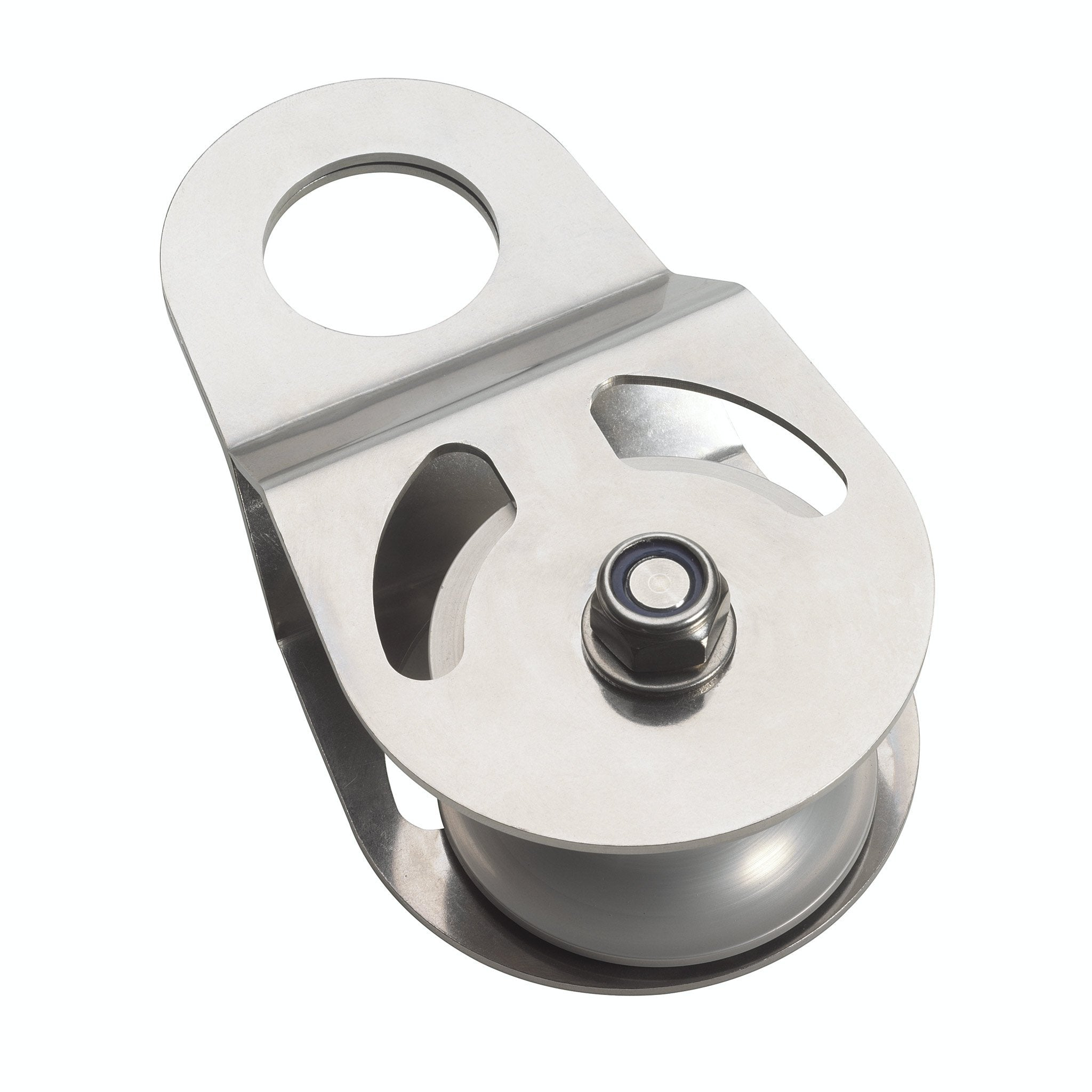 Big Block 32 - Swing Cheek Snatch Block for Large Diameter Ropes up to 32 mm - Arthur Beale