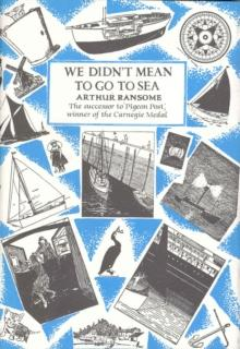 We Didn't Mean to Go to Sea Hardback - Arthur Beale
