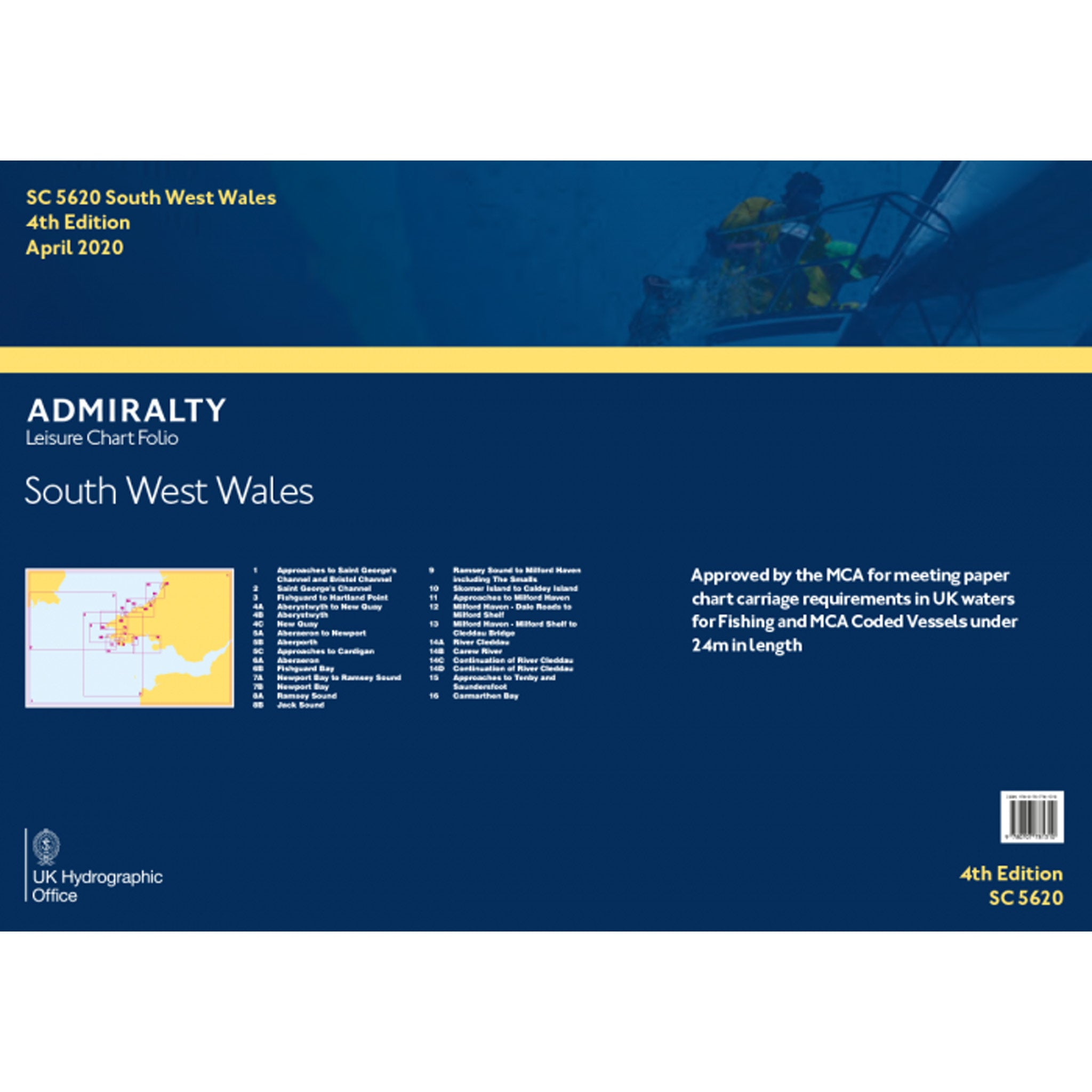 Admiralty Small Craft Folio SC5620 South West Wales