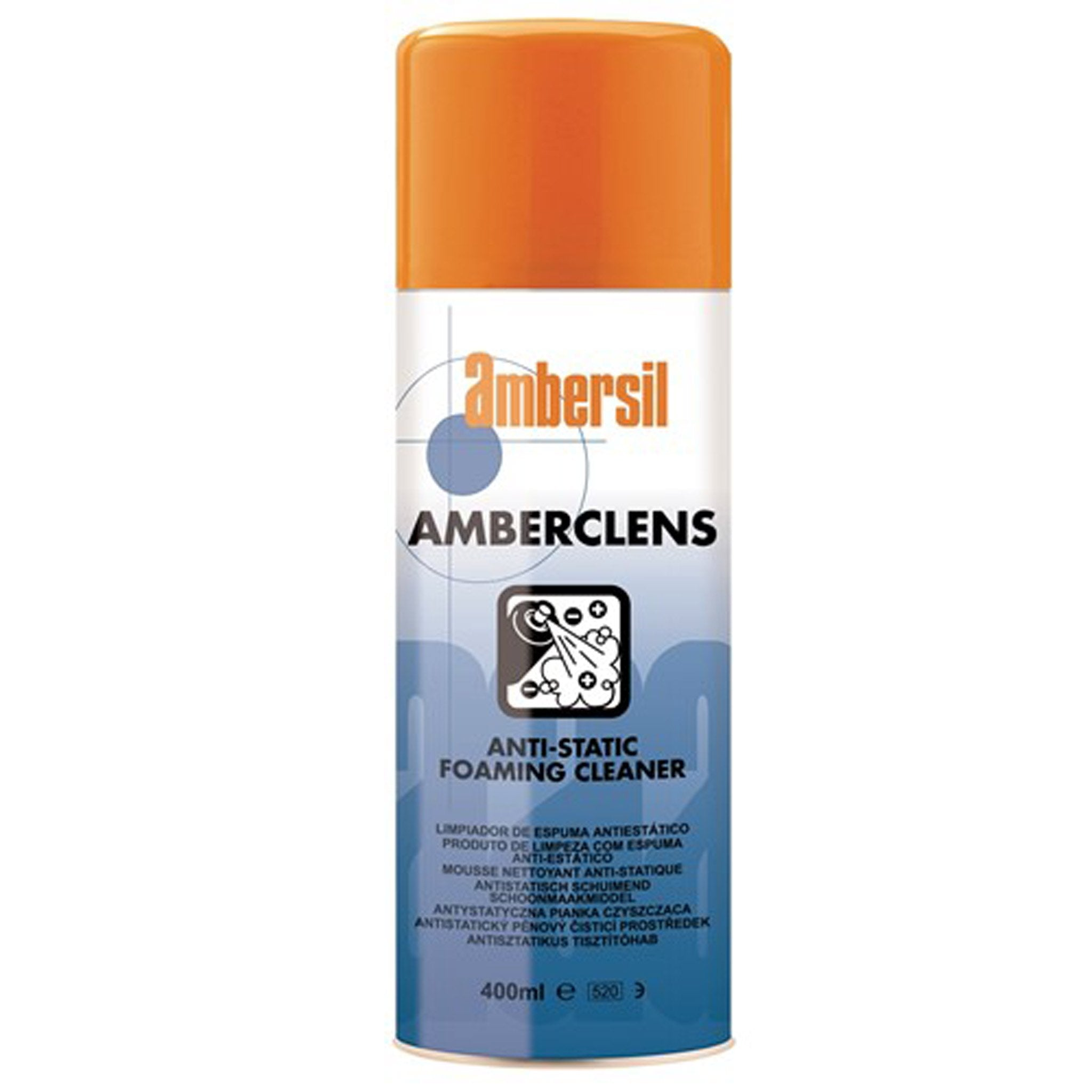 Amberclens Anti Static Foam Spray Cleaner 400 ml - Arthur Beale