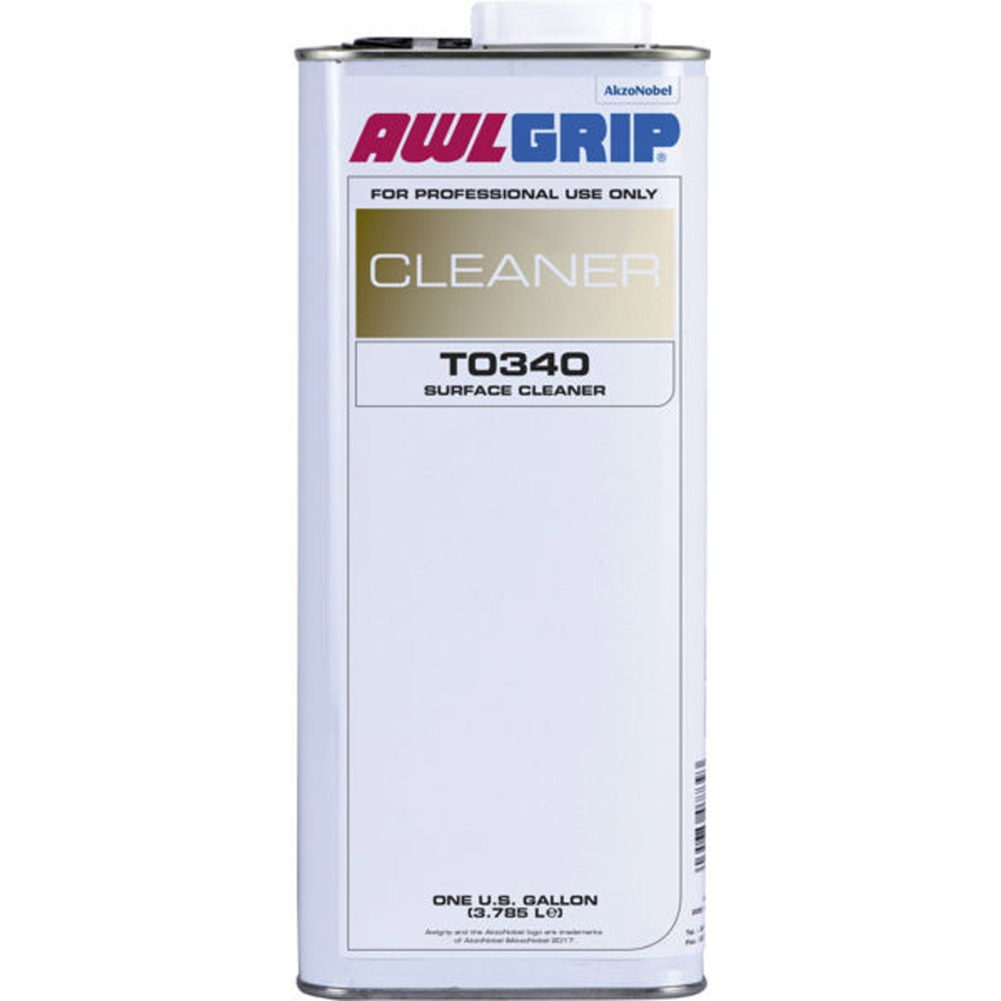 Awlgrip Surface Cleaner/Degreaser T0340 - professional use only - Arthur Beale