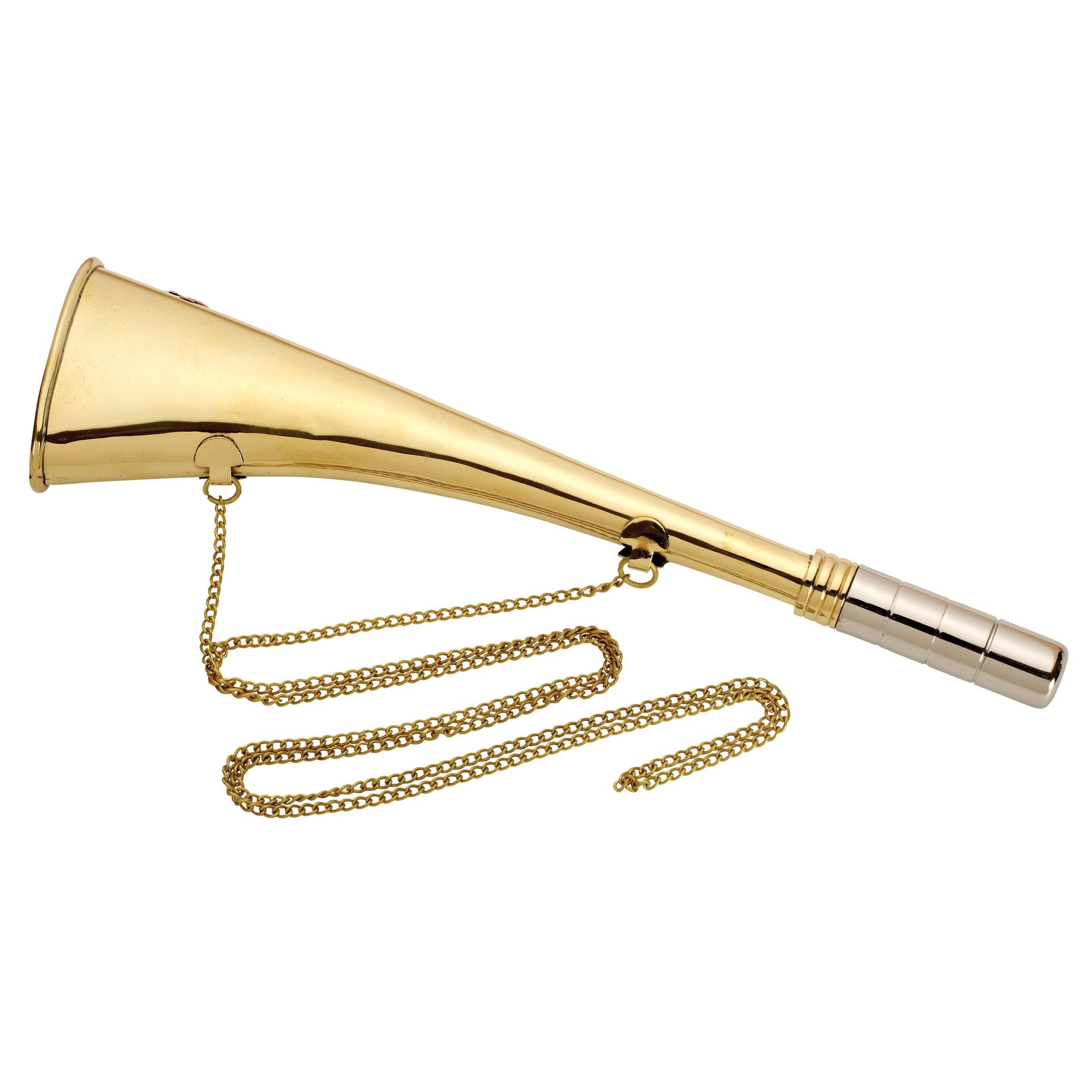 Brass Mouth Horn & Chain - Arthur Beale