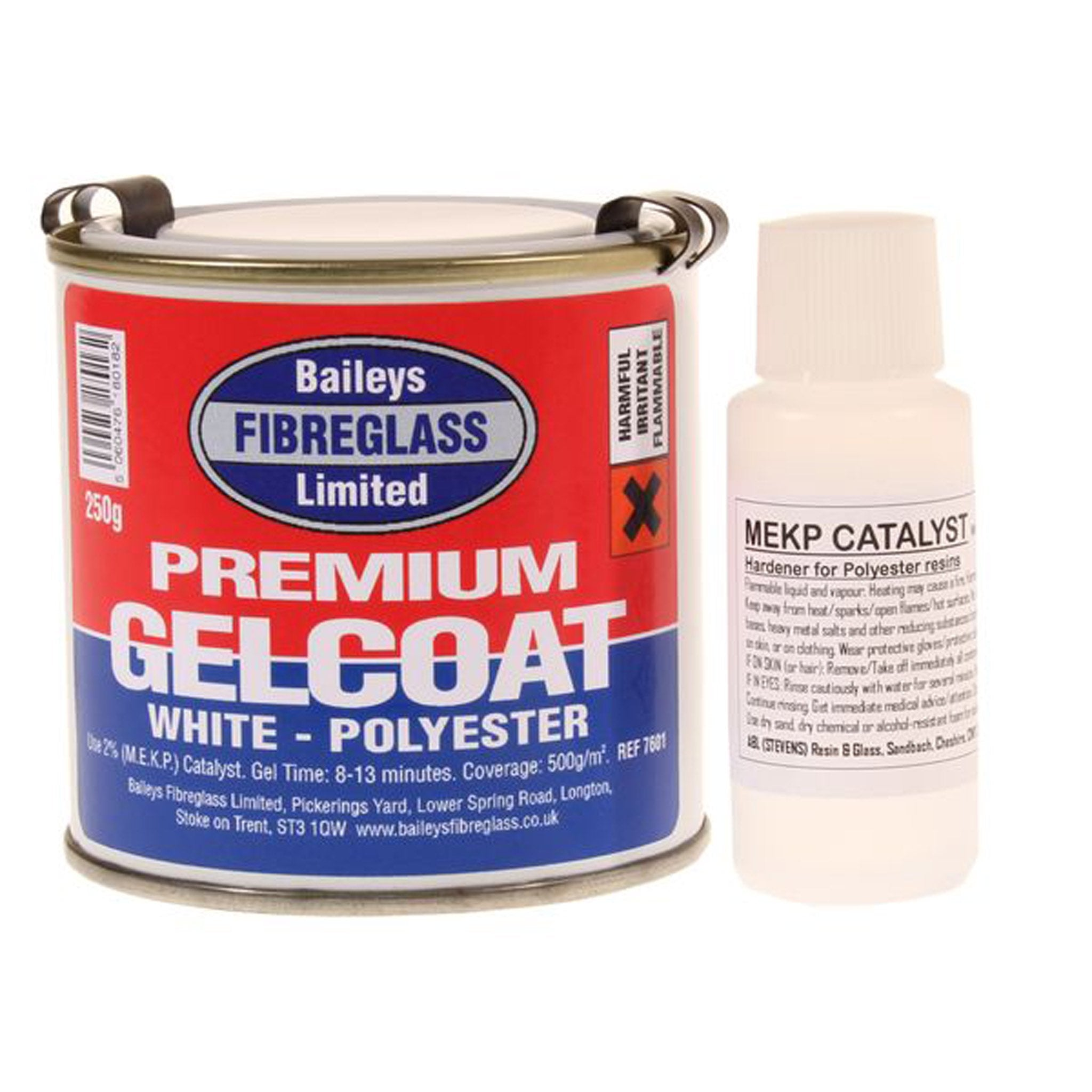 Bailey's Gelcoat Brilliant White - Arthur Beale