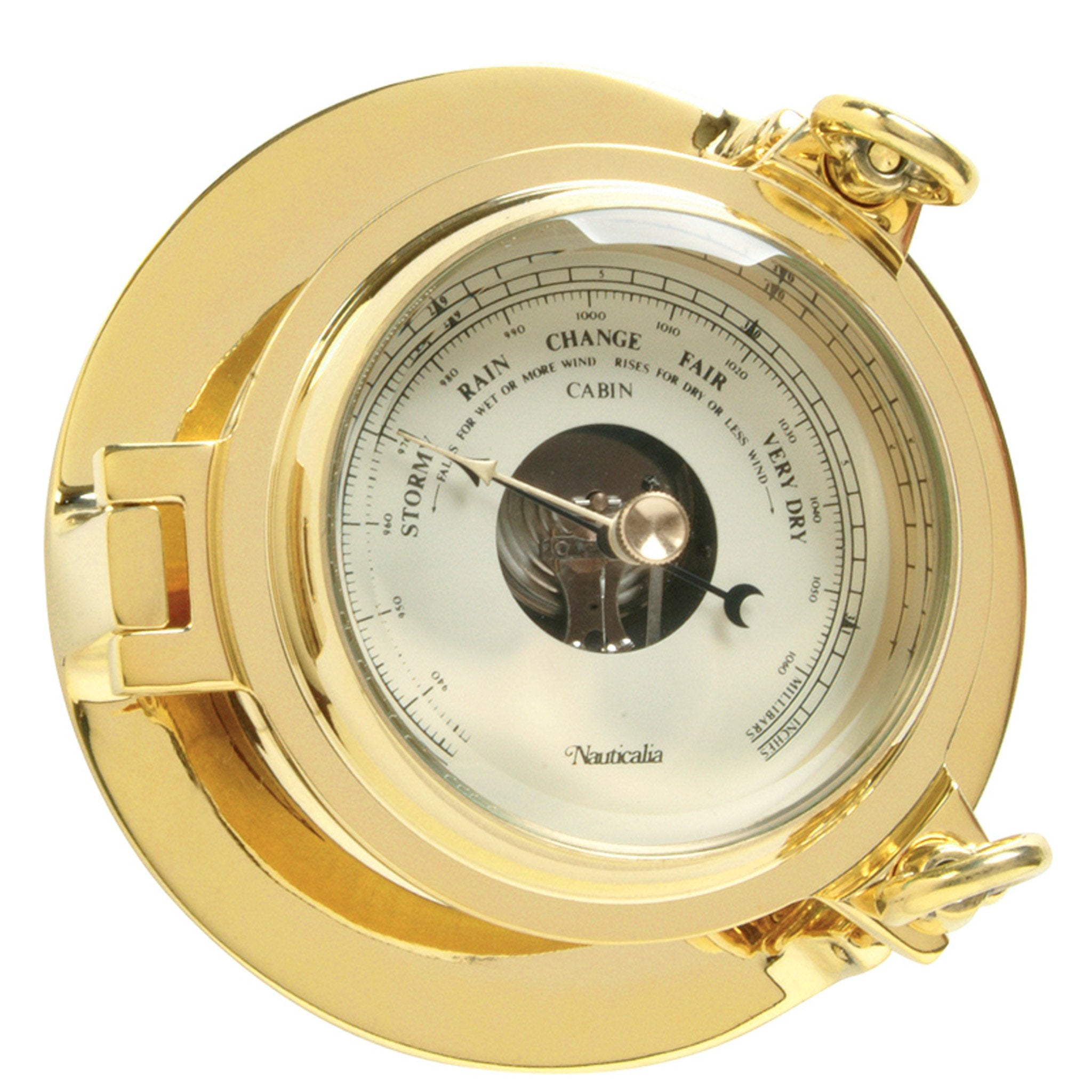 Nautical Cabin Barometer 140 mm - Arthur Beale