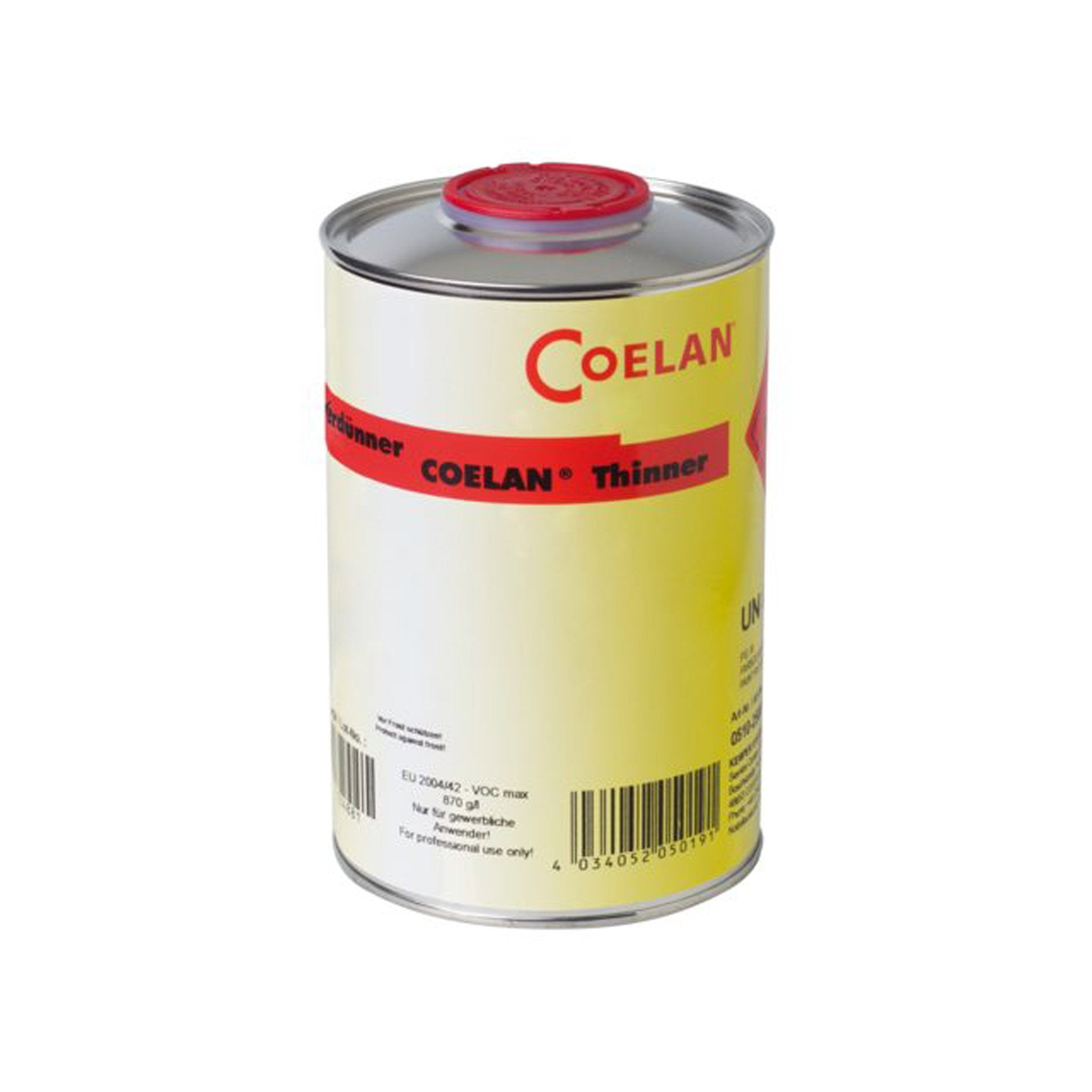 Coelan Thinner for Boat Coating - Arthur Beale