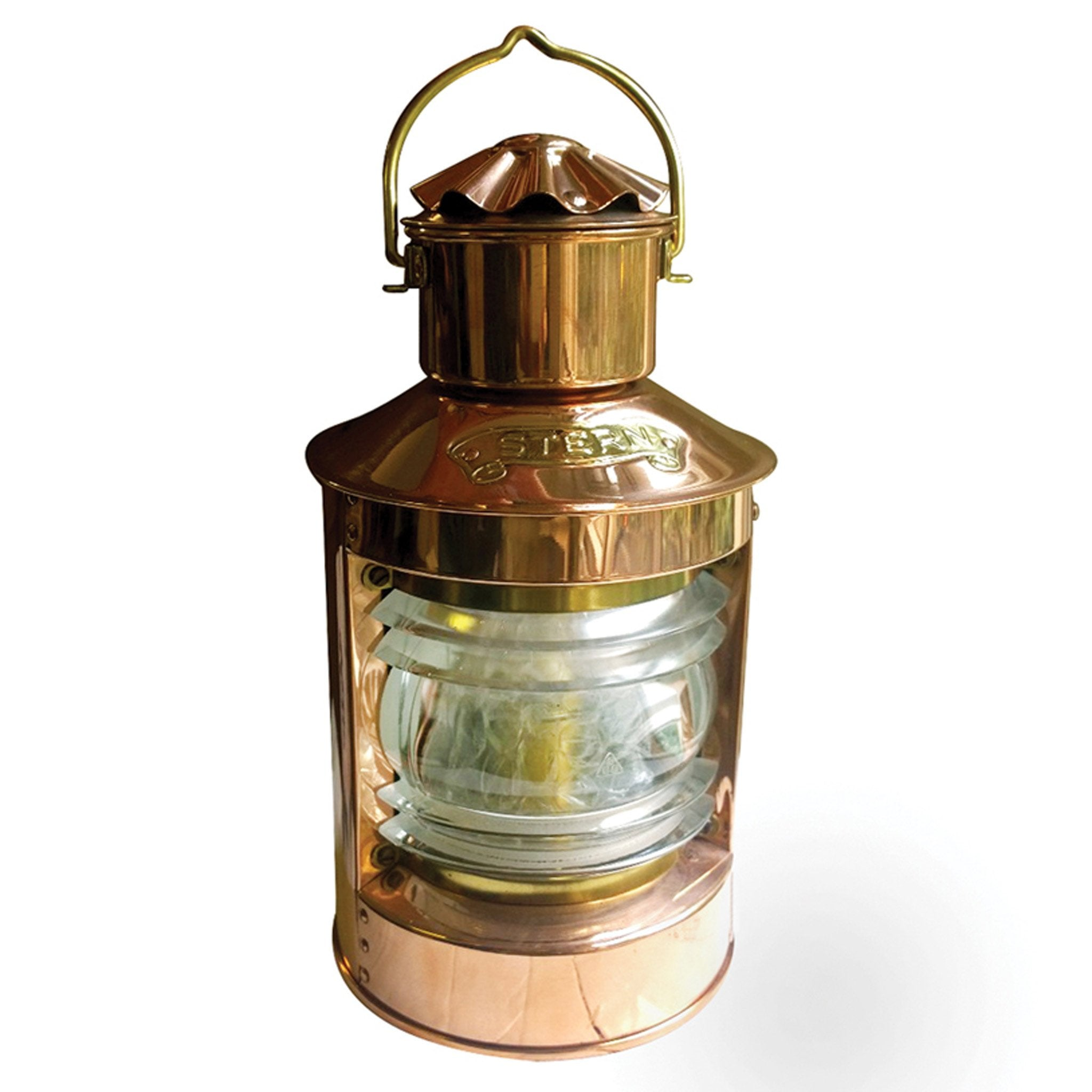 Copper Stern Oil Lamp - Arthur Beale