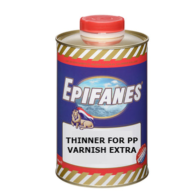 Epifanes Thinner for PP [polypropylene] Varnish Extra - Arthur Beale