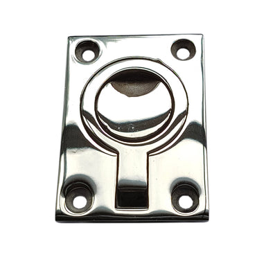 Stainless Steel Flush Ring Pull 63 x 44 mm - Arthur Beale