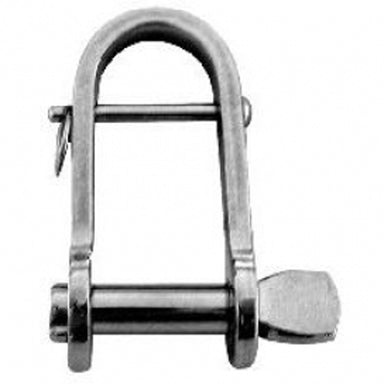 Flat Key Pin Shackle with Bar 7 mm - Arthur Beale