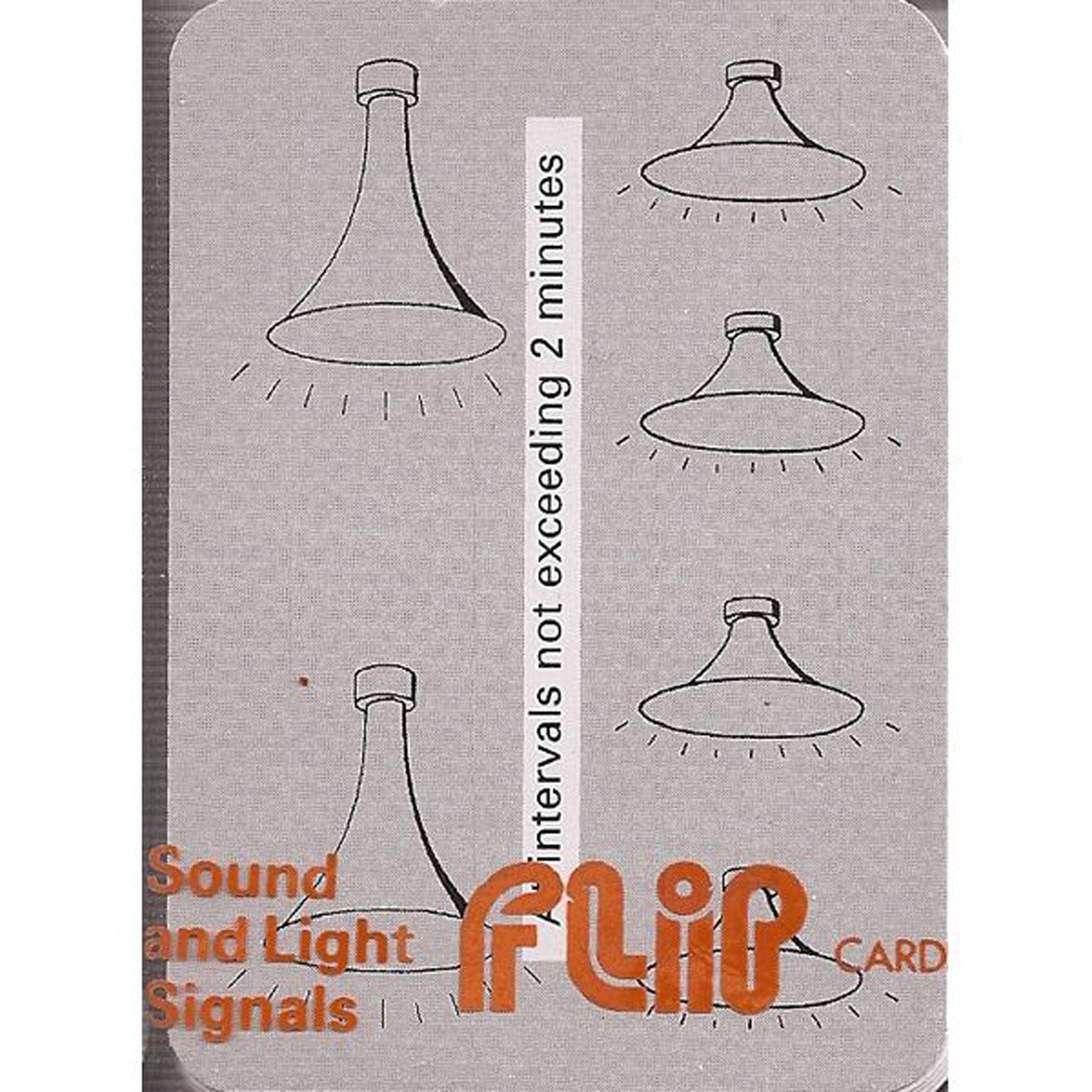 Flip Cards - Sound and Light Signals