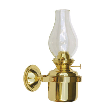 "Gimball Brass Lamp with 1 Wick"" - Arthur Beale"