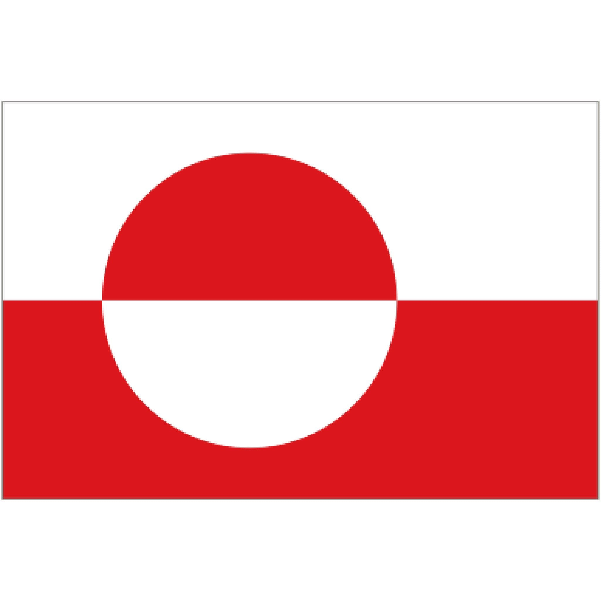 Courtesy Flag - Greenland - Arthur Beale