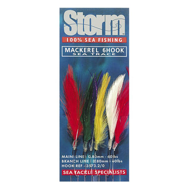 Storm Mackerel Feathers 6 Hook - Arthur Beale