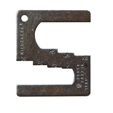 Nicopress Gauge For 51,63 and 64 Hand Tools - Arthur Beale