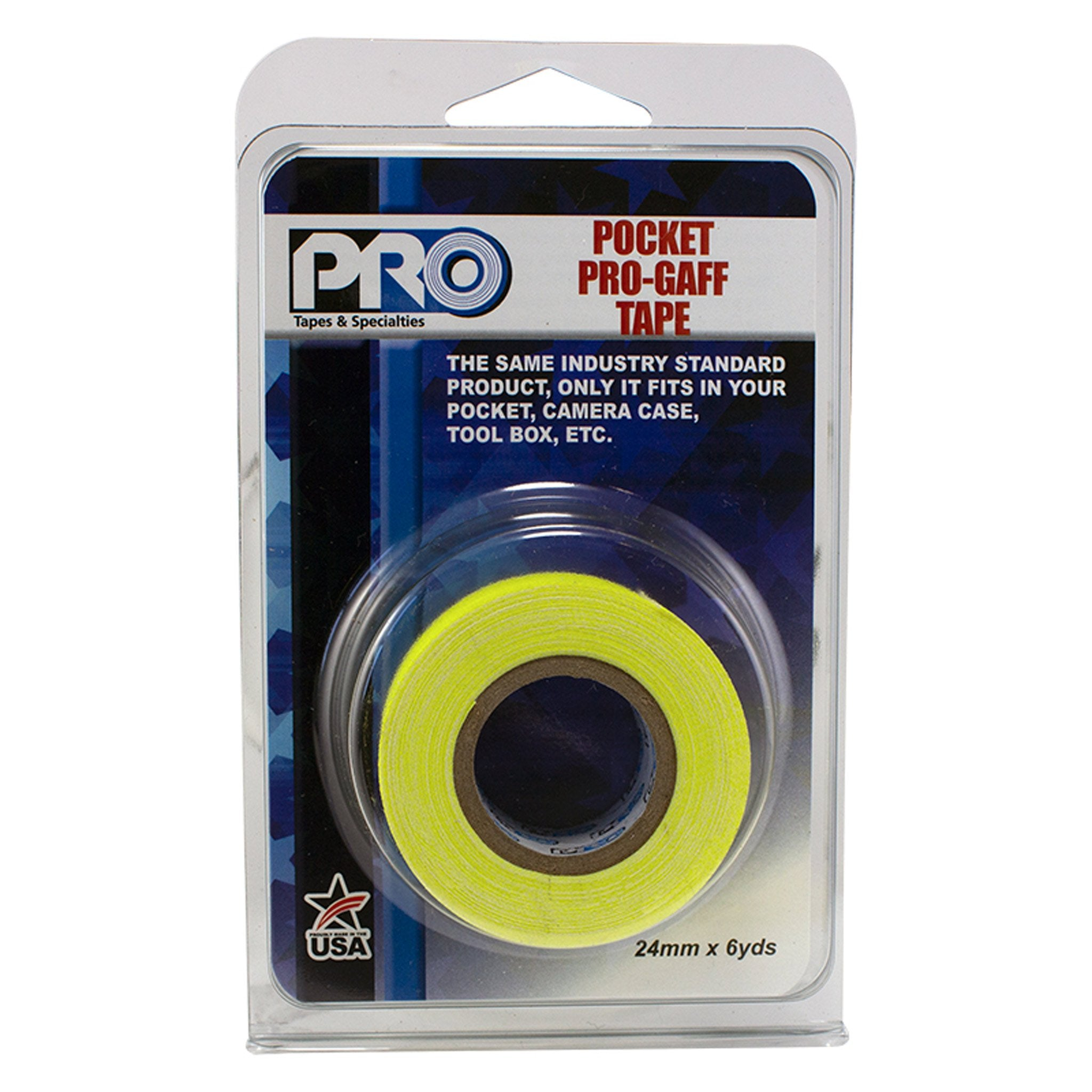 Pocket Pro Gaff Fluorescent Tape 25 mm - Arthur Beale