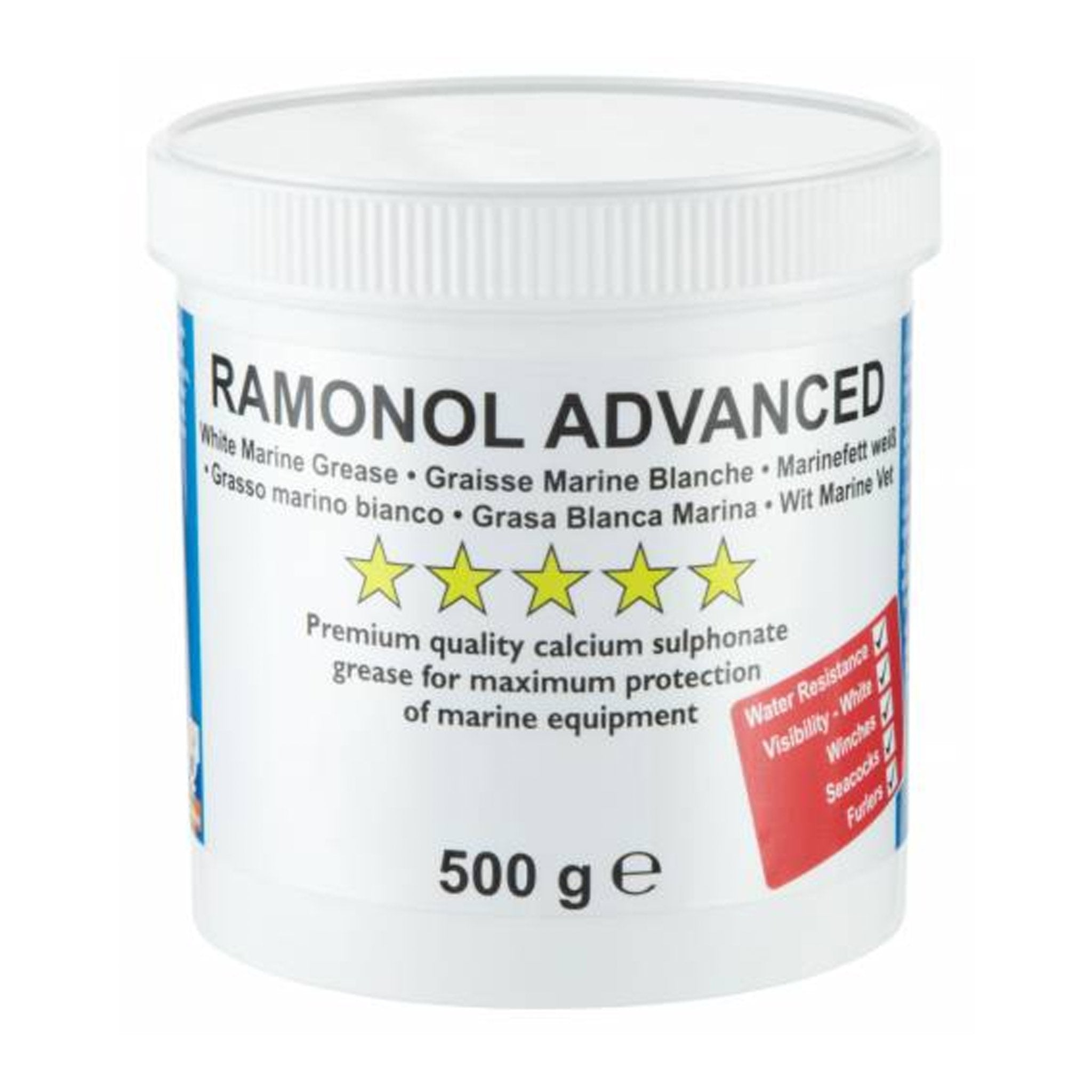 Ramonol Advanced White Grease (500 g) - Arthur Beale