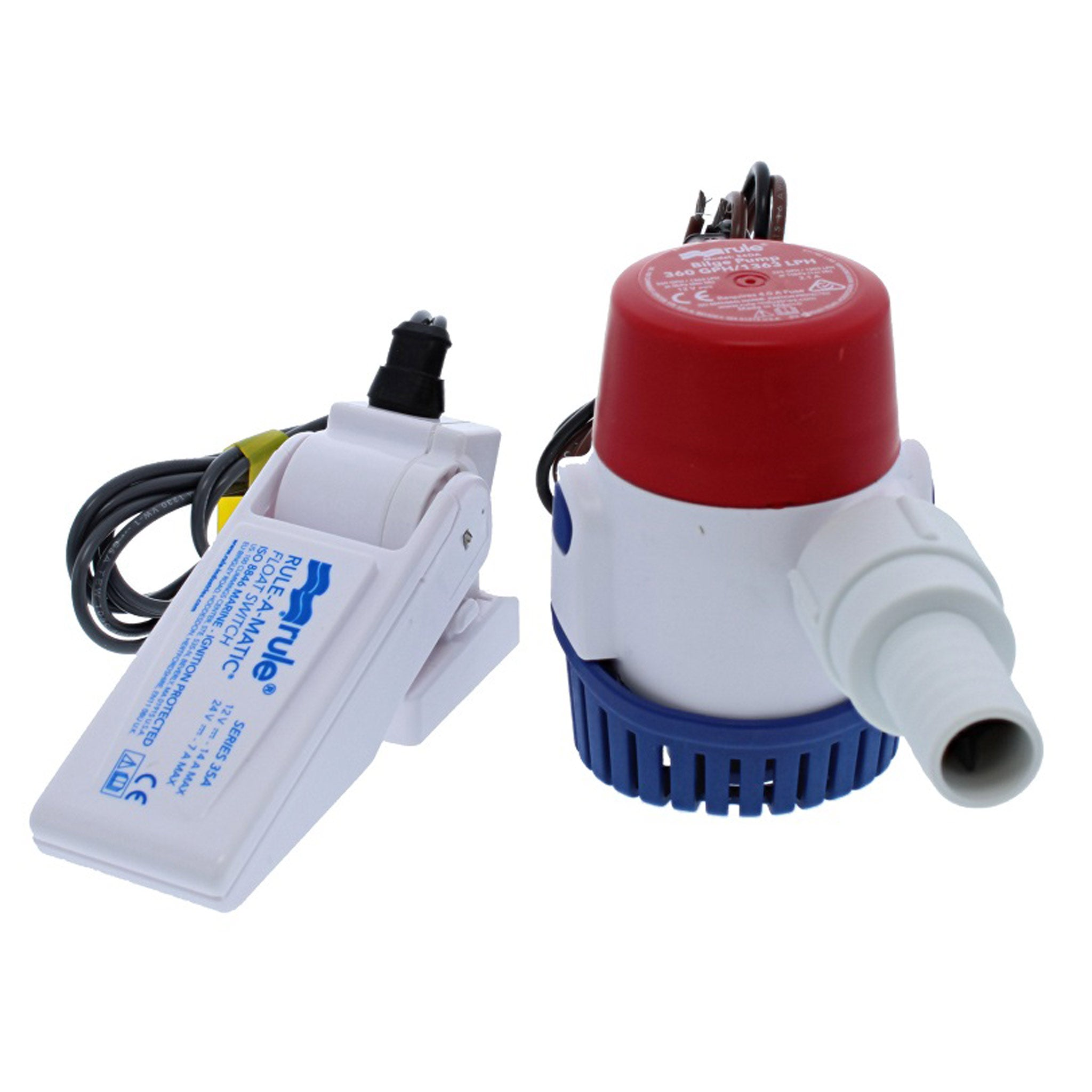 Rule Submersible Bilge Pump with Float Switch