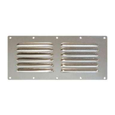 Stainless Steel Vent Plate 230 x 115 mm - Arthur Beale