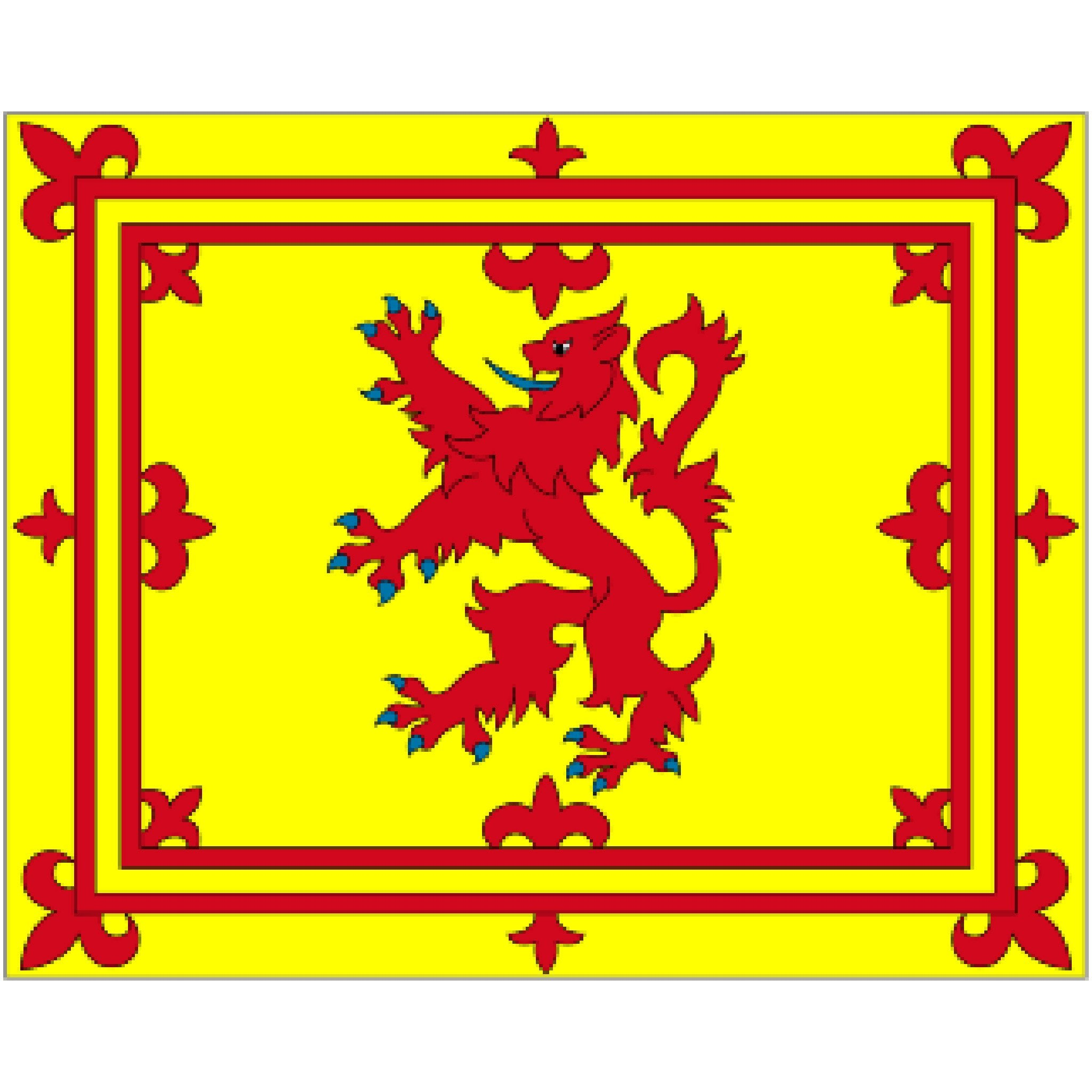 Courtesy Flag - Scotish Red Lion - Arthur Beale