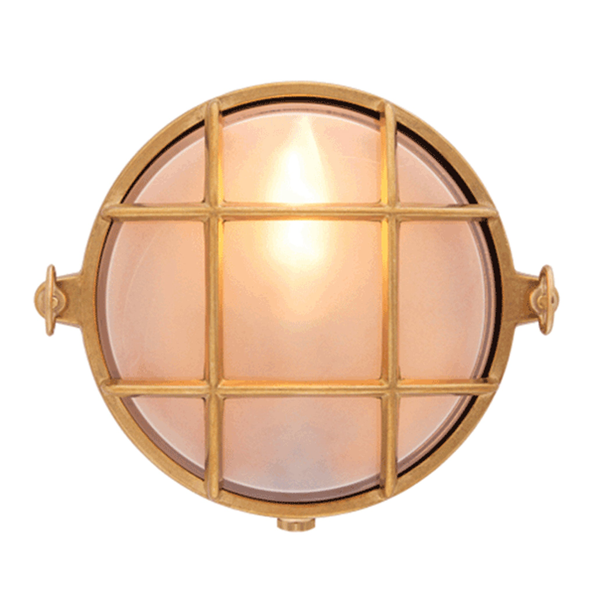 Small Round Bulkhead Light - 155 mm diameter