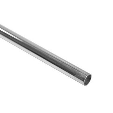 "Stainless Steel Fiddle Rail Curtain Rod 3/8"" x 3' - Arthur Beale"