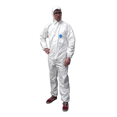 Disposable White Tyvek Overalls - Arthur Beale