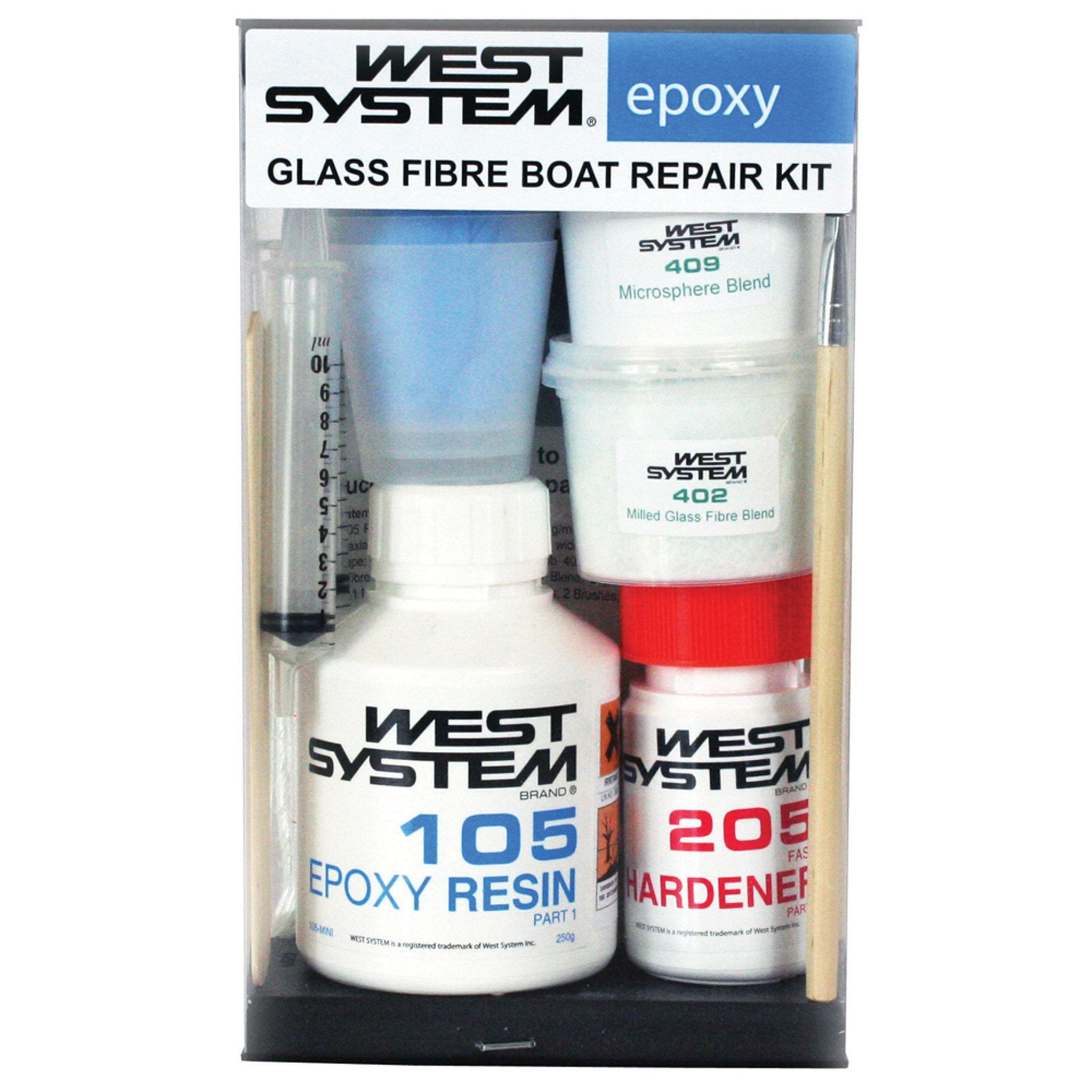 West System 105k Glass Fibre Boat Repair kit - Arthur Beale