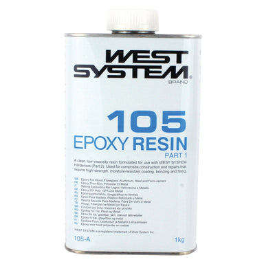 West System 105 Epoxy Resin - Arthur Beale