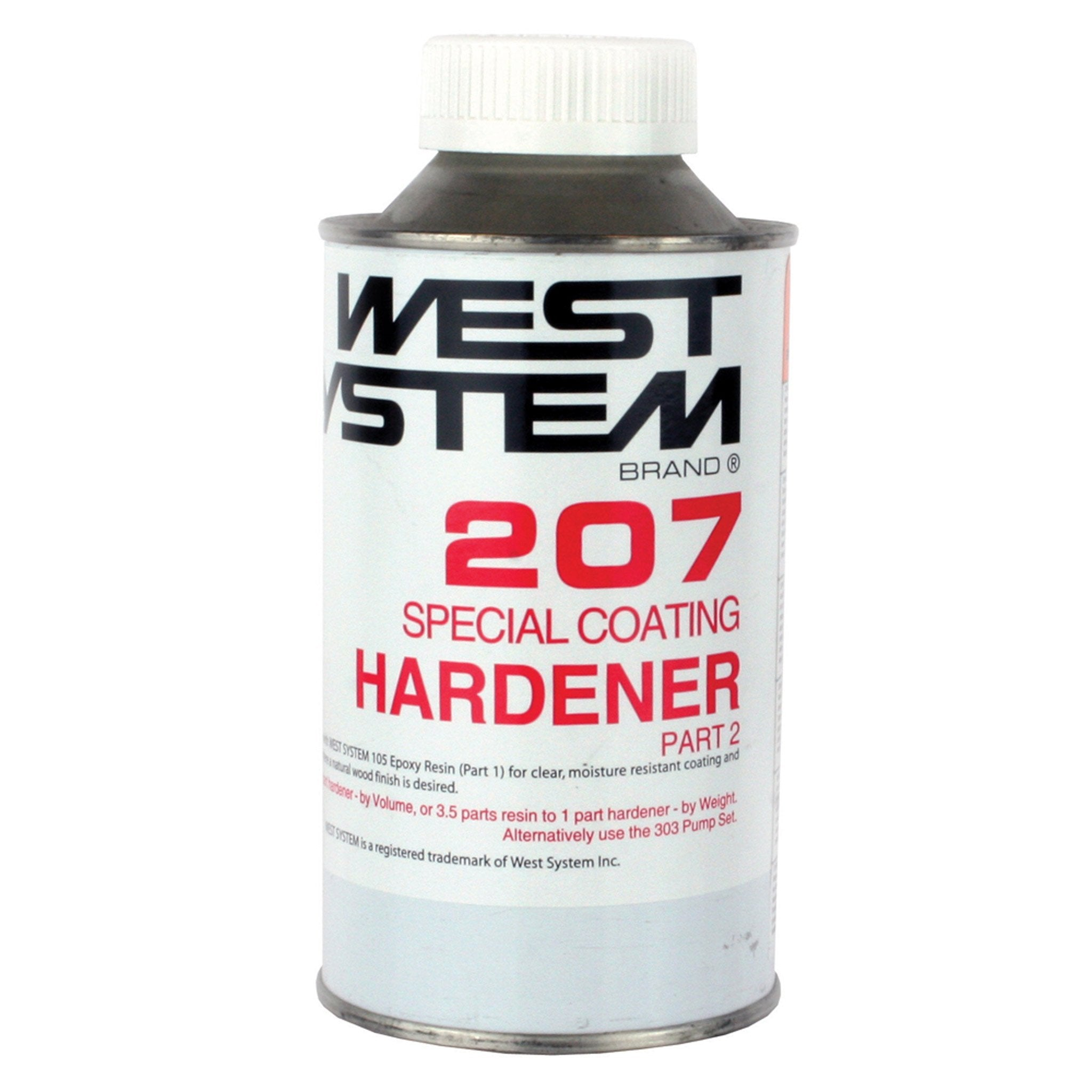 West System 207 Clear Coating - Arthur Beale