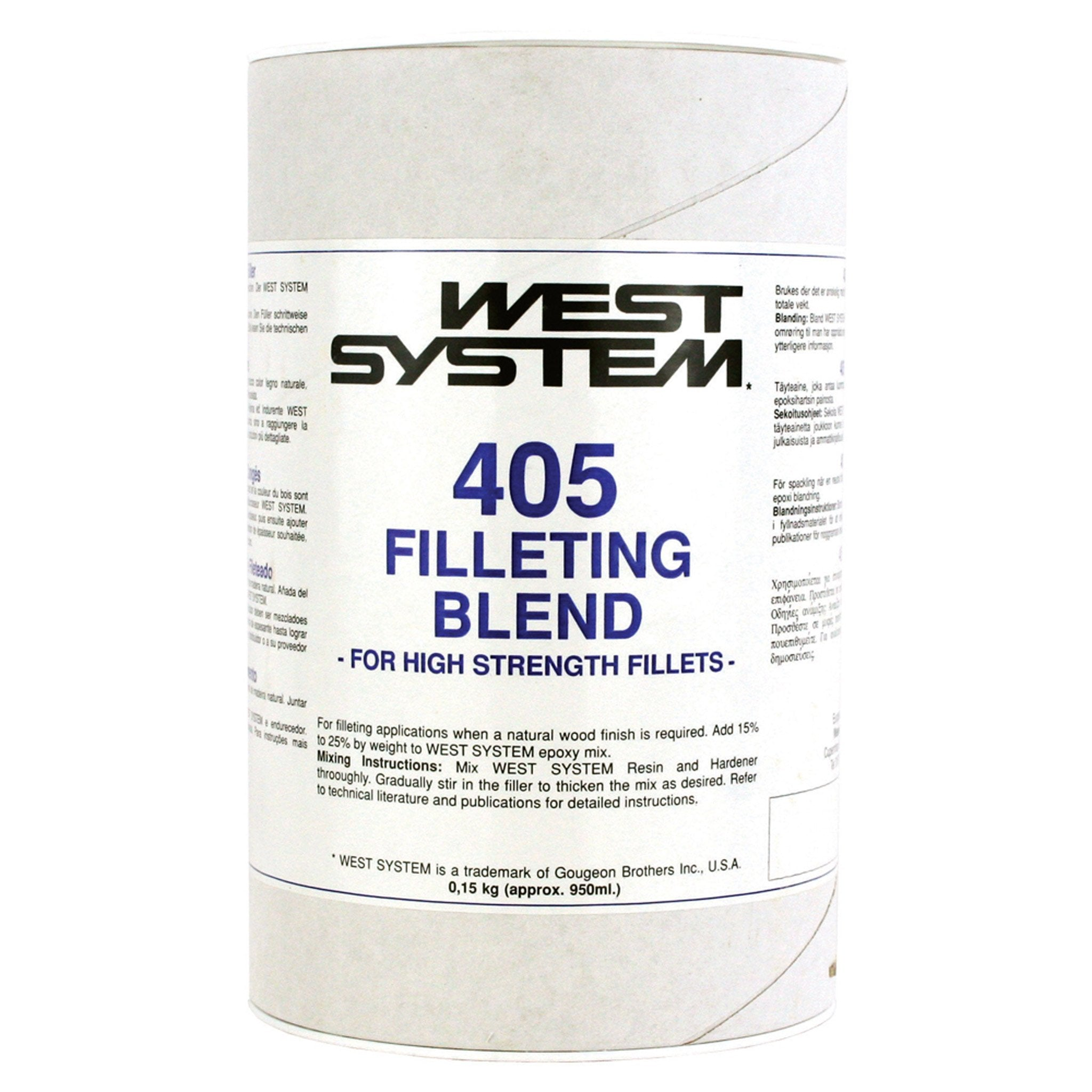 West System 405 Filleting Blend - Arthur Beale