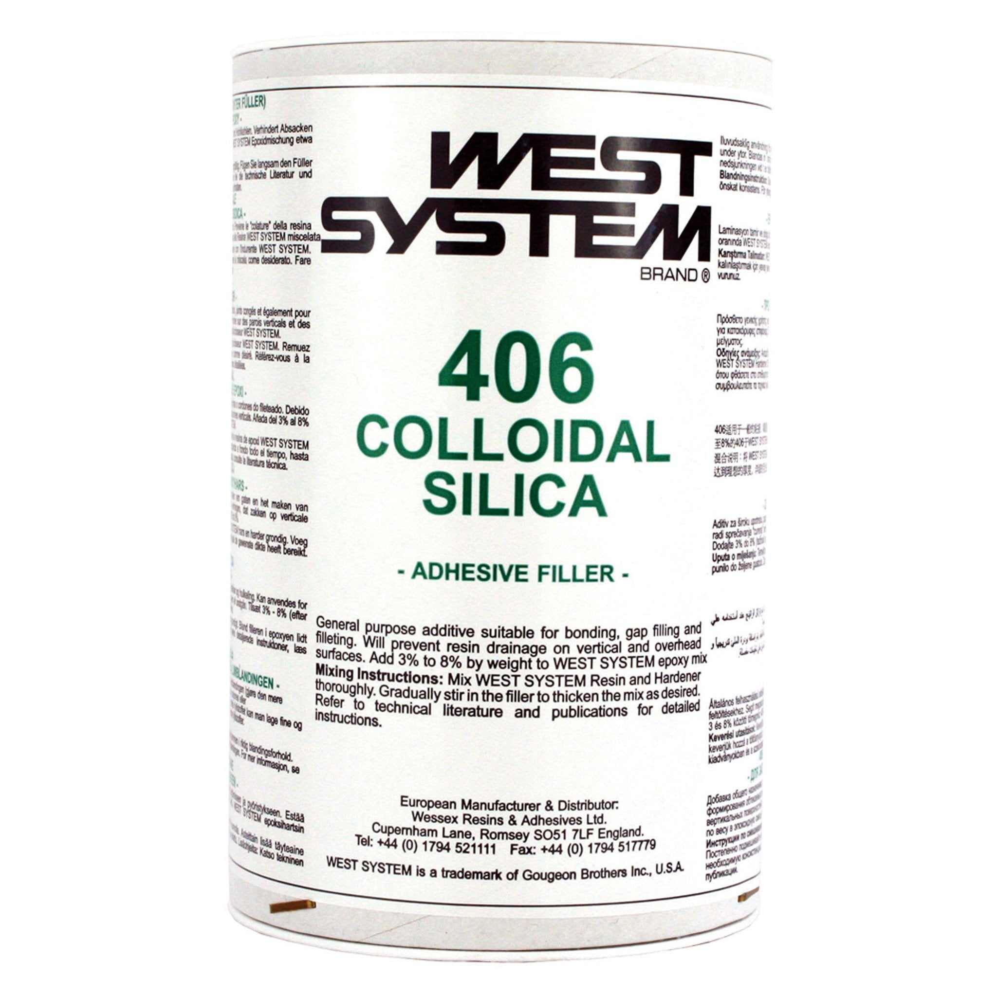 West 406 Colloidal Silica - Arthur Beale
