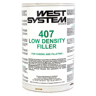 West System 407 Low Density Fairing Filler - Arthur Beale