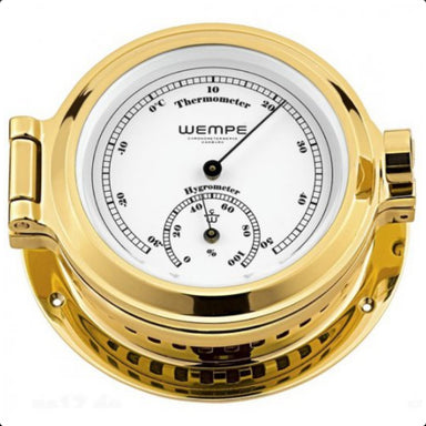 Wempe Nautic Thermo Hygrometer 120 mm - Arthur Beale