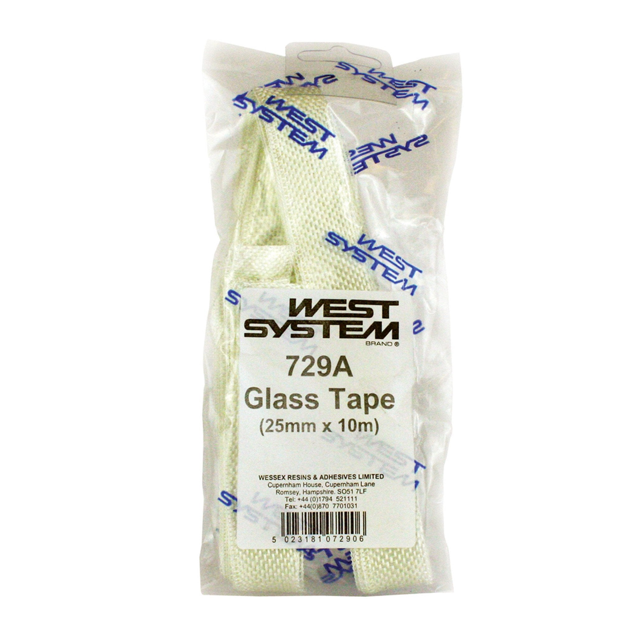 West System 730  Glass Tape 50mm x 10m - Arthur Beale
