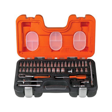 "Bahco 1/4"" 46 Piece Socket Set - Arthur Beale"