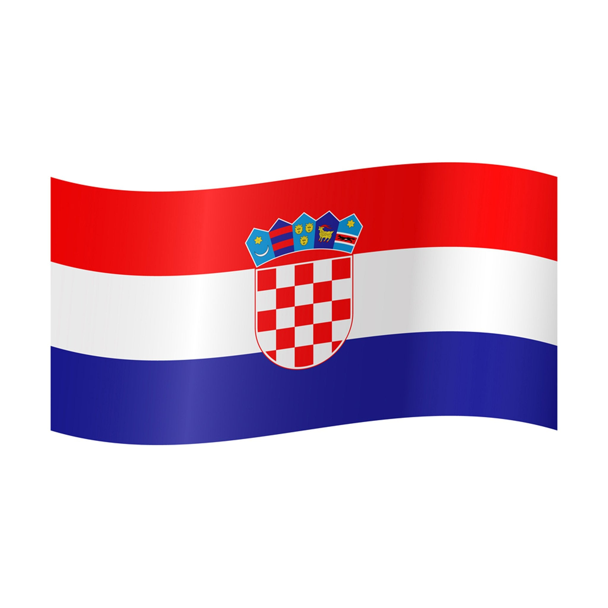 Courtesy Flag - Croatia - Arthur Beale