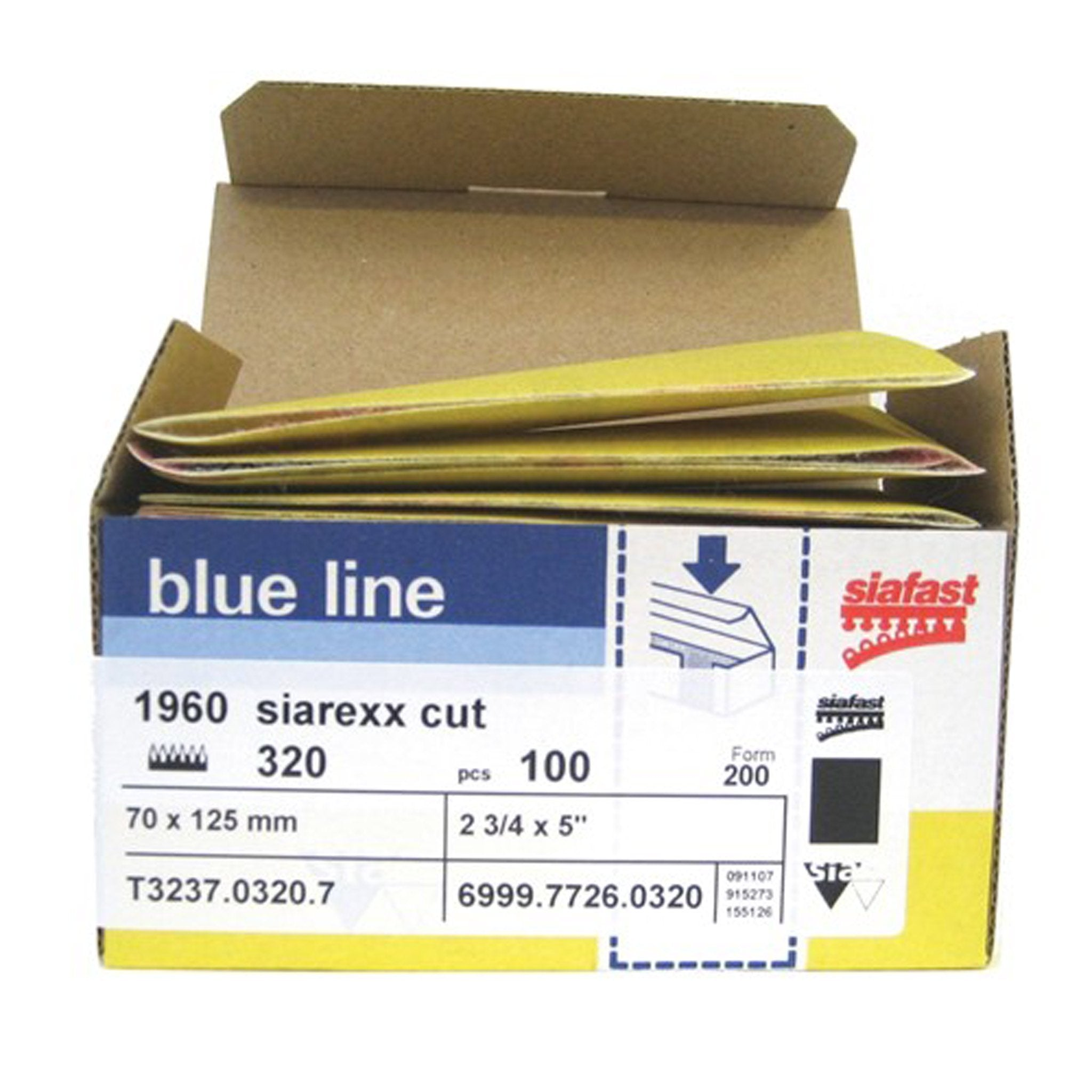 Hook and Loop Abrasive Sheets - Arthur Beale