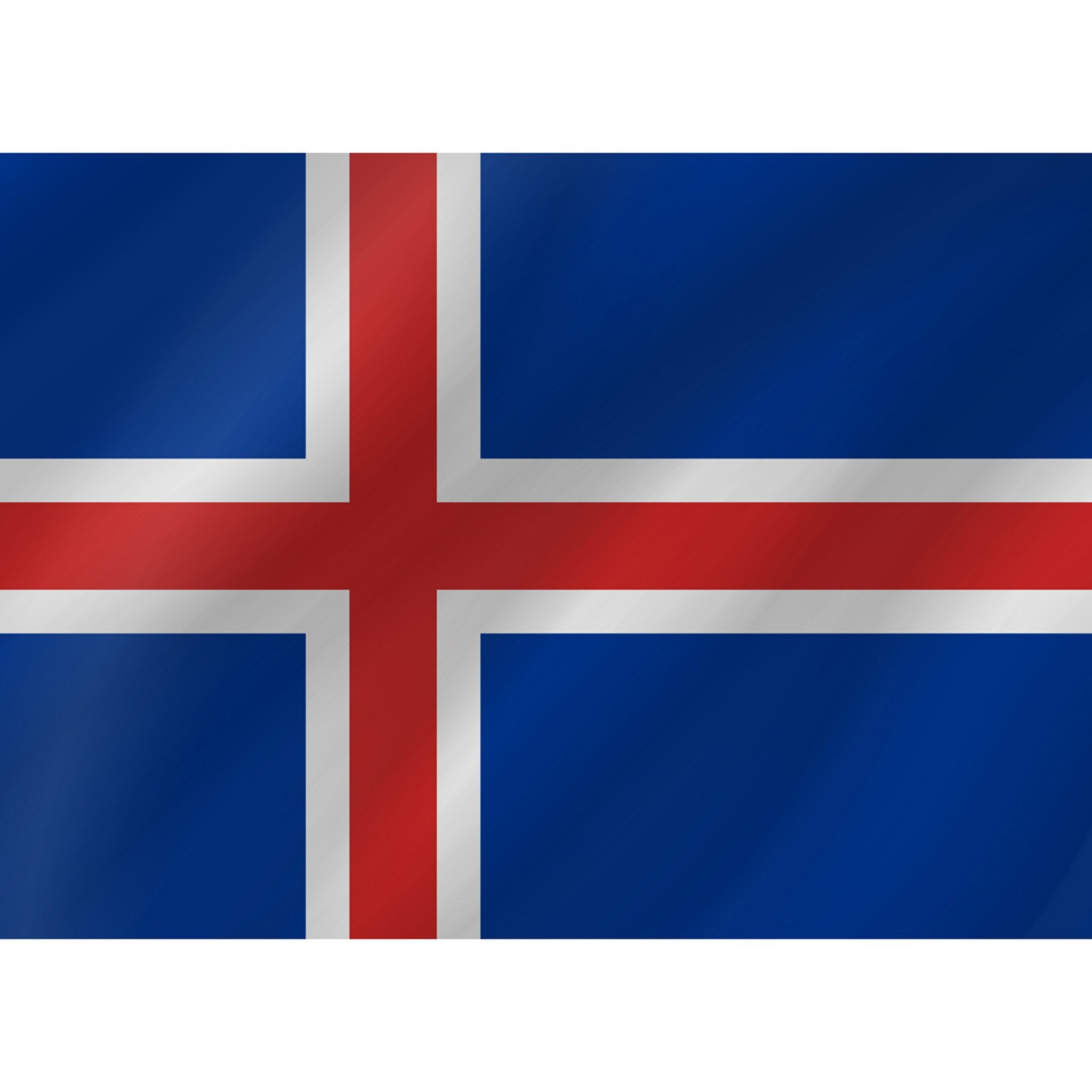 Courtesy Flag - Iceland - Arthur Beale