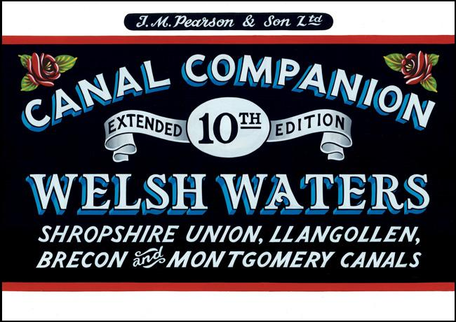 Pearson's Canal Companion - Welsh Waters - Arthur Beale