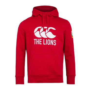 MENS BRITISH & IRISH LIONS LOGO HOODY