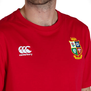 MENS BRITISH & IRISH LIONS COTTON JERSEY TEE