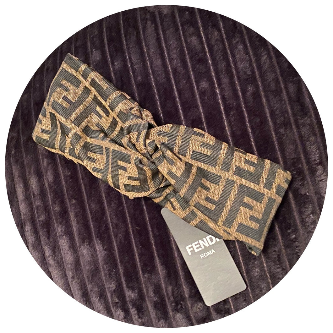 Fendi Knot Headband
